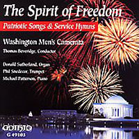 Washington Men's Camerata : The Spirit of Freedom : 00  1 CD : Thomas Beveridge :  : G-49103