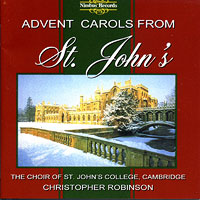 St John's College Choir, Cambridge : Advent Carols from St. John's : 00  1 CD : Christopher Robinson :  : NIM 5414