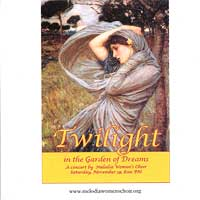 Melodia Women's Choir : Twilight in the Garden of Dreams : 00  1 CD : Cynthia Powell :
