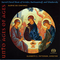 Gloriae Dei Cantores : Unto Ages of Ages : 00  1 CD : Elizabeth Patterson :