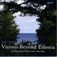 Estonian National Male Choir : Visions Beyond Estonia : 00  1 CD : Ants Soots : Veljo Tormis : ncd 31