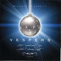 Millikin University Choirs : Vespers 2009 - This Wondrous Day...This Shining Night : 00  1 CD :