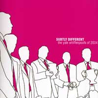 Whiffenpoofs : Subtly Different : 00  1 CD :