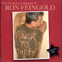 Ron Feingold : Back To Dirty : 00  2 CDs :