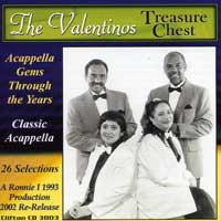 The Valentinos : Treasure Chest : 00  1 CD : 3003