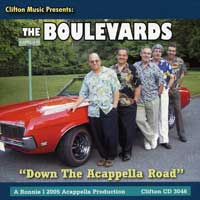 Boulevards : Down The Acappella Road : 00  1 CD : 3046