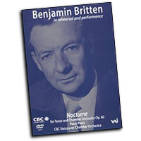 Benjamin Britten : in Rehearsal and Performance : DVD : Benjamin Britten : Benjamin Britten : 089948427797 : VAI4277DVD