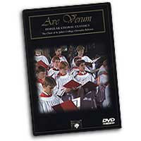 St John's College Choir, Cambridge : Ave Verum - Popular Choral Classics : DVD