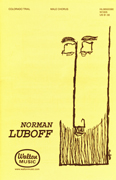Colorado Trail : TTBB : Norman Luboff : Norman Luboff Choir : Sheet Music : W1005 : 073999689952