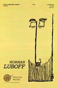 Poor Lonesome Cowboy : TTBB : Norman Luboff : Norman Luboff Choir : Sheet Music : W1007 : 073999586046