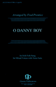 O Danny Boy : SSAATTBB : Fred Prentice : Sheet Music : 08738654 : 073999386547 : 1458423913