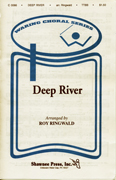 Deep River : TTBB : Roy Ringwald : Traditional : Sheet Music : 35005232 : 747510013532