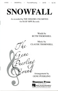 Snowfall  : SSATBB : Gene Puerling : Singers Unlimited : Sheet Music : 35020727 : 747510017875