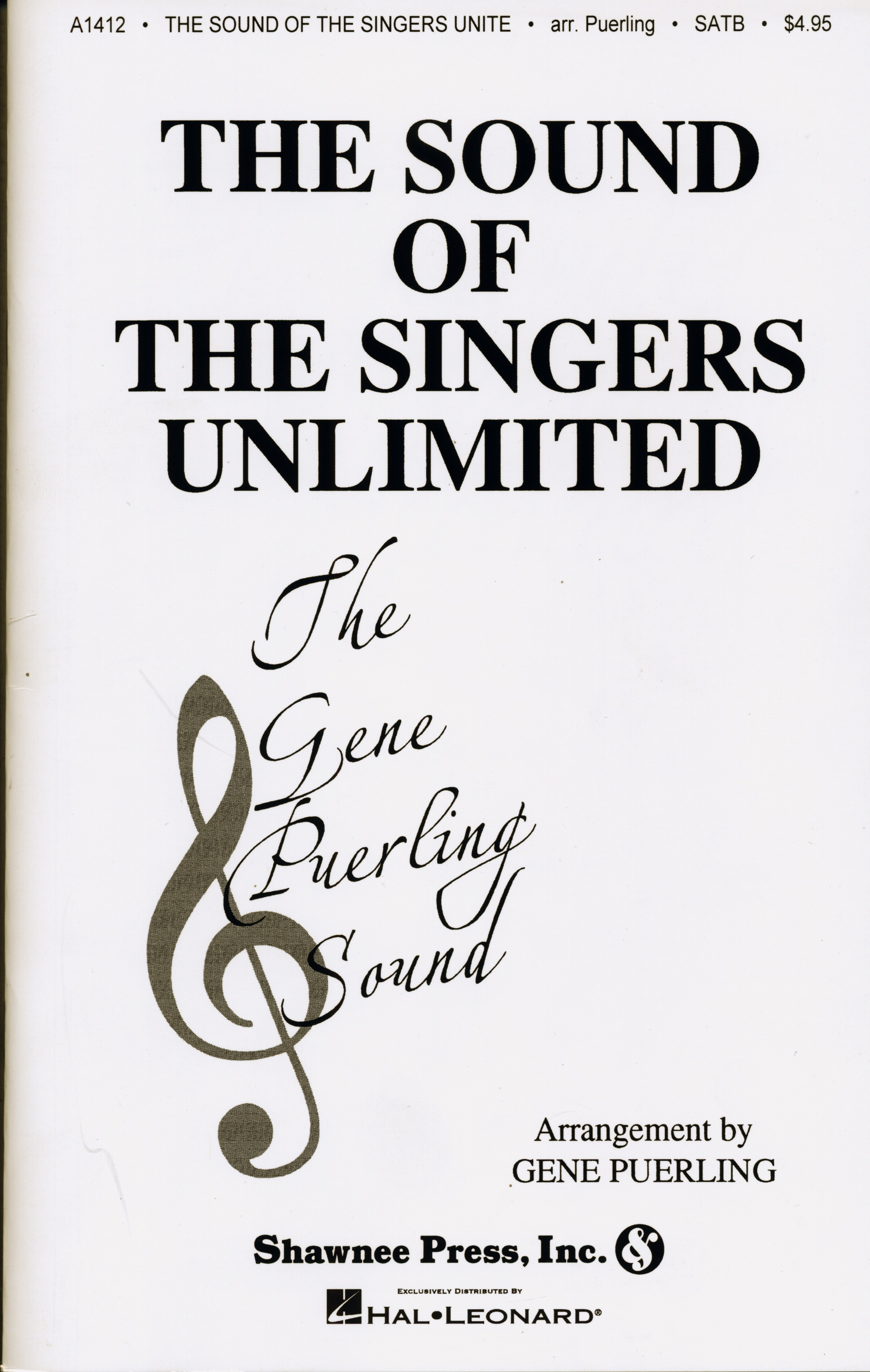 We've Only Just Begun : SSAATBB : Gene Puerling : Roger Nichols : Sheet Music : 35021340 : 747510014645