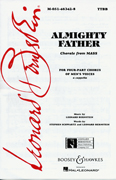 Almighty Father : TTBB : Leonard Bernstein : Sheet Music : 48004139 : 073999555158