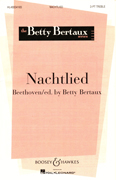 Nachtlied : SSA : Betty Bertaux : Sheet Music : 48004165 : 073999346831