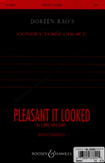 Pleasant It Looked  : SATB divisi : Imant Raminsh : Sheet Music : 48004641 : 073999378245
