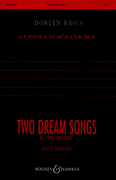 Two Dream Songs : SATB divisi : Imant Raminsh : 48004643 : 073999753042