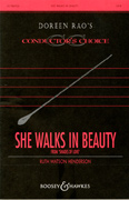 She Walks In Beauty : SATB : Doreen Rao : Sheet Music : 48004673 : 073999934724