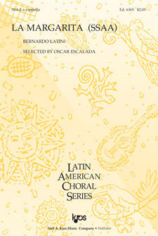 La Margarita : SSAA : 6365 : Sheet Music : 6365 : 8402703943