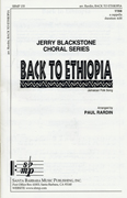 Back to Ethiopia : TTBB : Paul Rardin : Sheet Music : SBMP155