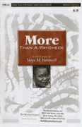 More Than a Paycheck : SSAA : Ysaye Barnwell : Ysaye Barnwell : Sweet Honey In The Rock : Sheet Music : dc134