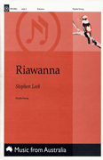 Riawanna : SATB : Stephen Leek : Sheet Music : mr-0903