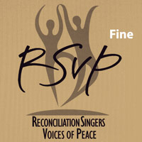 Reconciliation Singers : Voices of Peace : 00  1 CD : Julie Adams