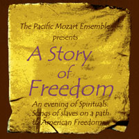 Pacific Mozart Ensemble  : A Story Of Freedom : 00  1 CD : Lynne Morrow :