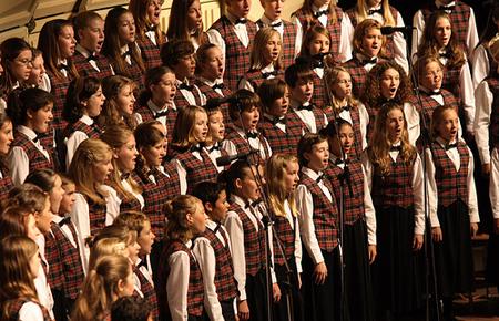 Children's Choir CDs chorus CD recordings with treble voices