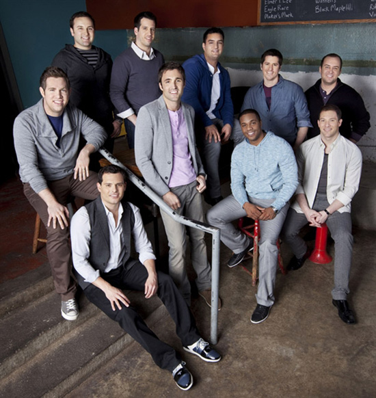 Stupendous Straight No Chaser A Cappella Group Easy Diy Christmas Decorations Tissureus