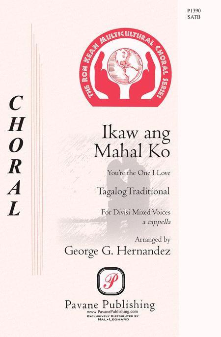 Ikaw Ang Mahal Ko : SATB : George Hernandez : Sheet Music : 00117153 : 884088886585