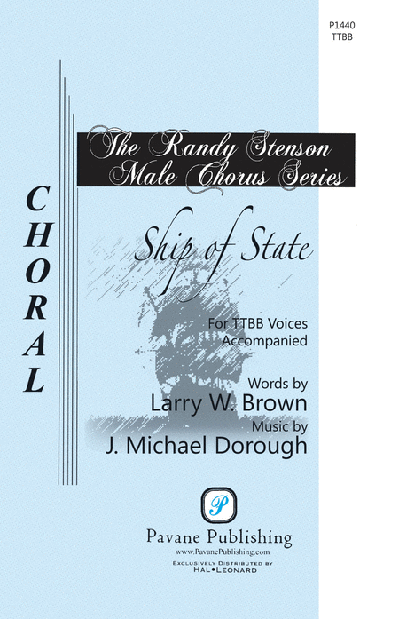 Ship of State : TTBB : J. Michael Dorough : J. Michael Dorough : Sheet Music : 00117163 : 884088886684