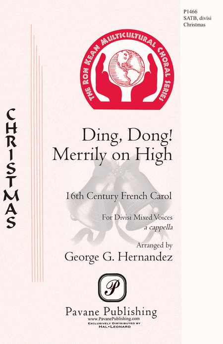 Ding Dong! Merrily on High : SATB : George Hernandez : Sheet Music : 00124998 : 884088986360