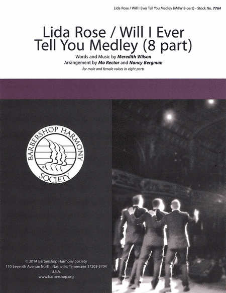 Lida Rose / Will I Ever Tell You? Medley : TTTTBBBB : Nancy Bergman : Sheet Music : 00137952 : 812817020252