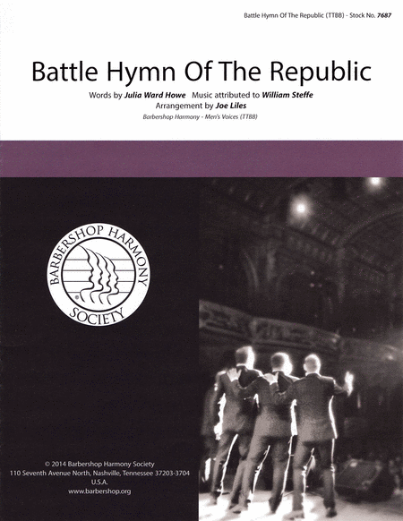 Battle Hymn of the Republic : TTBB : Joe Liles : Julia Ward Howe : Sheet Music : 00141987 : 812817020092