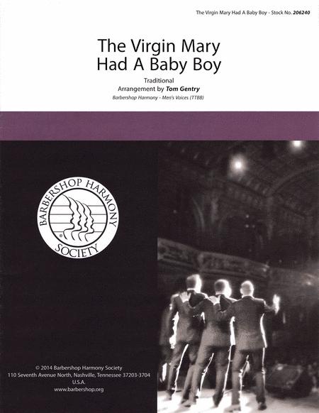 The Virgin Mary Had a Baby Boy : TTBB : Tom Gentry : Sheet Music : 00141992 : 812817020177