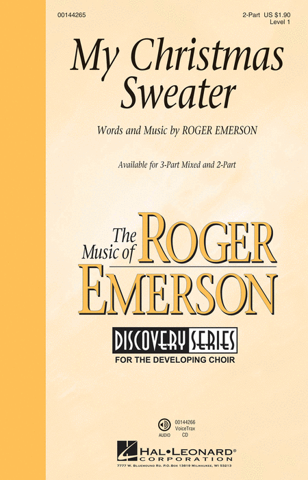 My Christmas Sweater : 2-Part : Roger Emerson : Roger Emerson : Sheet Music : 00144265 : 888680061074