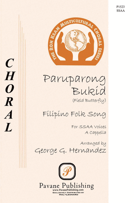 Paruparong Bukid (The Field Butterfly) : SSAA : George Hernandez : Sheet Music : 00145668 : 888680066840
