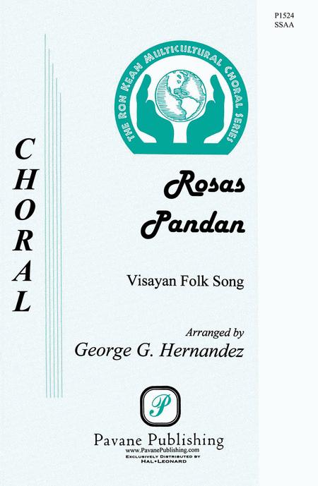 Rosas Pandan : SSAA : George Hernandez : Sheet Music : 00145671 : 888680066871