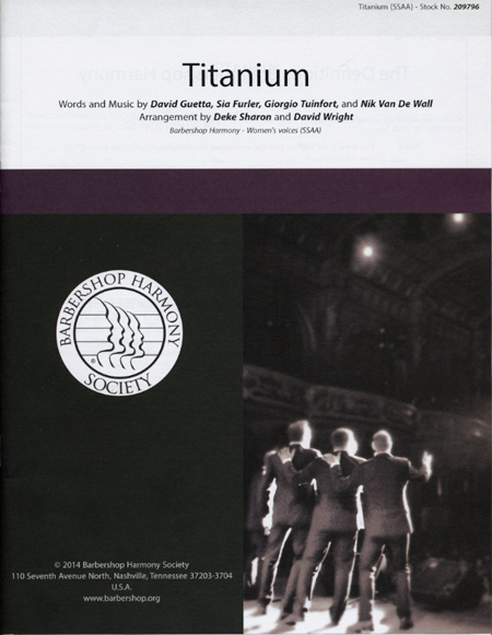 Titanium : SSAA : Deke Sharon and David Wright : David Guetta : Sheet Music : 00151483 : 812817020887
