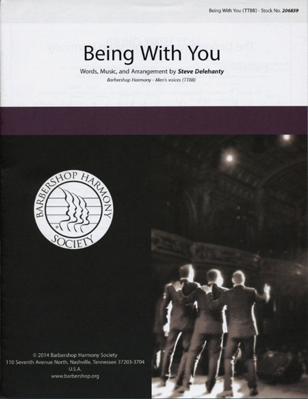 Being With You : TTBB : Steve Delehanty : Smokey Robinson : Sheet Music : 00155681 : 812817020948