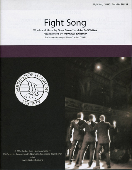 Fight Song : SSAA : Wayne M. Grimmer : Rachel Platten : Sheet Music : 00155683 : 812817020962