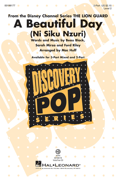 A Beautiful Day (Ni Siku Nzuri) : 2-Part : Mac Huff : Sheet Music : 00198177 : 888680647452