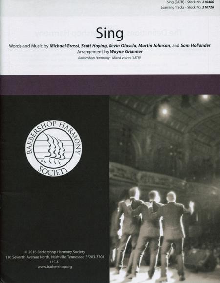 Sing : SATB : Mark Brymer : Pentatonix : Sing : Sheet Music : 00155794 : 888680602000