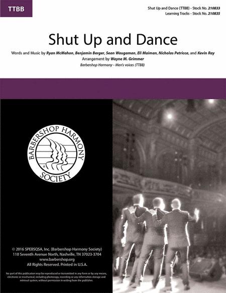 Shut Up and Dance : TTBB : Wayne Grimmer : Walk the Moon : Walk The Moon : Sheet Music : 00218589 : 812817021198