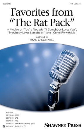 Favorites From the Rat Pack : TTB : Ryan O'Connell : Sheet Music : 00298185 : 888680951238 : 1540057852