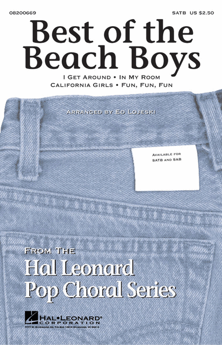 Best of the Beach Boys (Medley) : SATB : Ed Lojeski : Brian Wilson : Beach Boys : Sheet Music : 08200669 : 073999509441