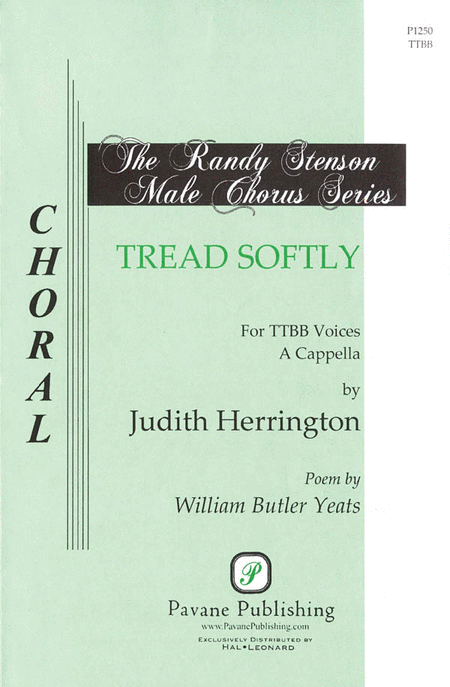 Tread Softly : TTBB : Judith Herrington : Sheet Music : 08301723 : 073999589368