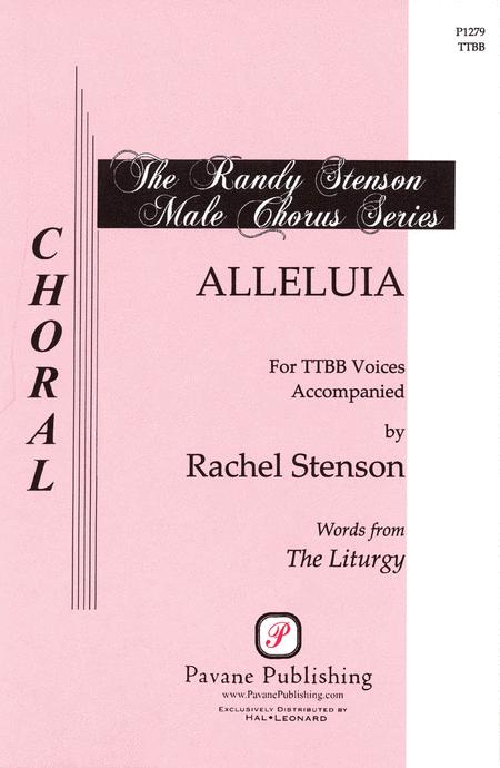Alleluia : TTBB : Rachel Stenson : Rachel Stenson : Sheet Music : 08301760 : 884088058449